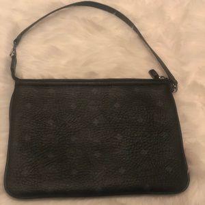 MCM medium Visetos original Leather Pouch Wristlet